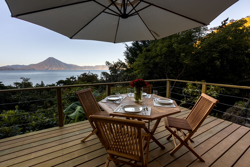 1 Bd villa with spectacular views and nature